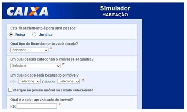 Simulador Caixa